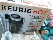 KEURIG Coffee Maker HOT K475 PLUS